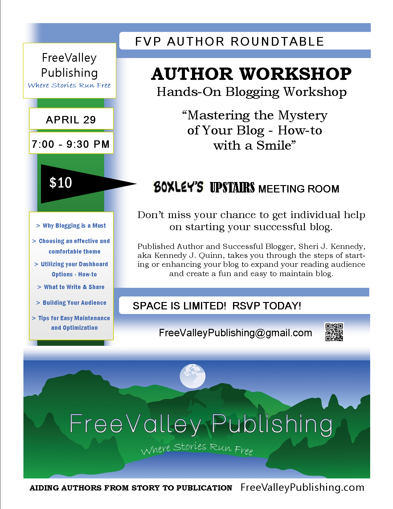 workshop New Listing Flyer