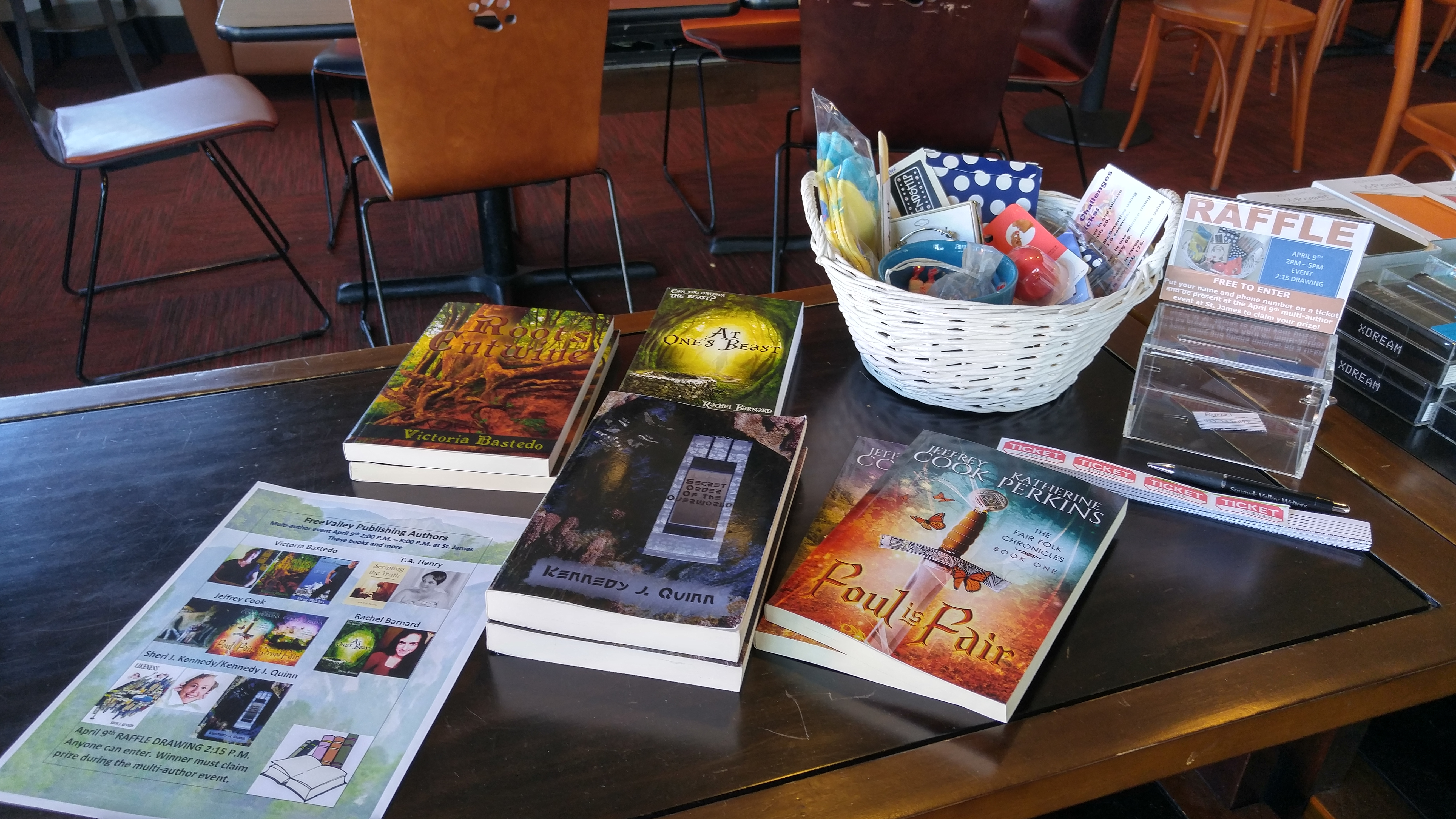 Local Event This Saturday €� St James Espresso In Kirkland, Wa With  Multiple Fvp Authors!