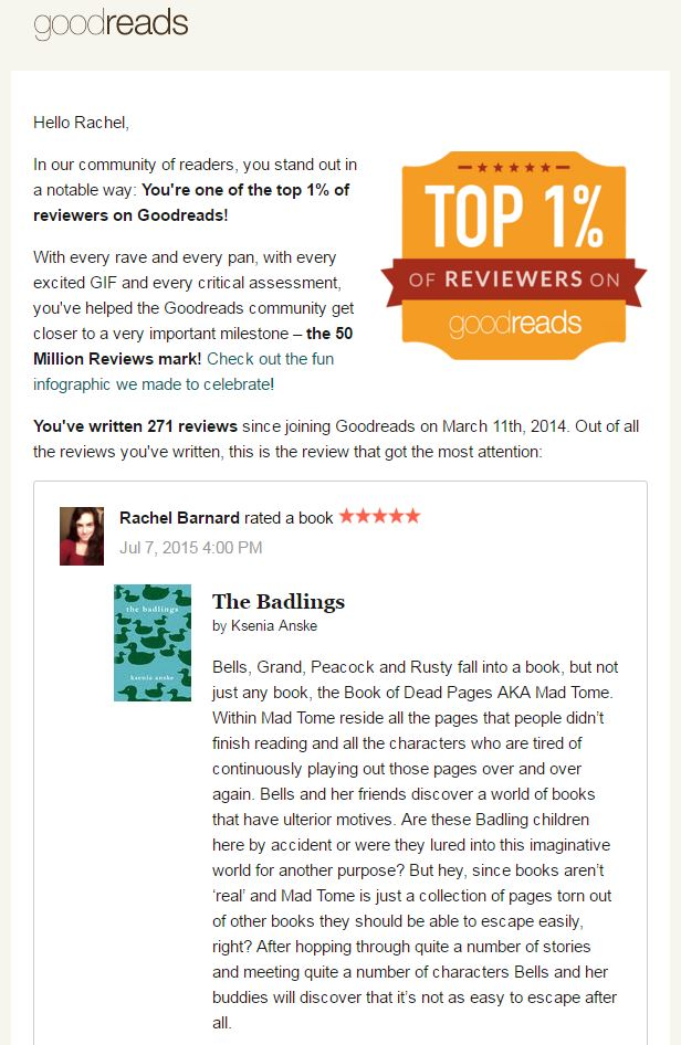 top goodreads reviewer